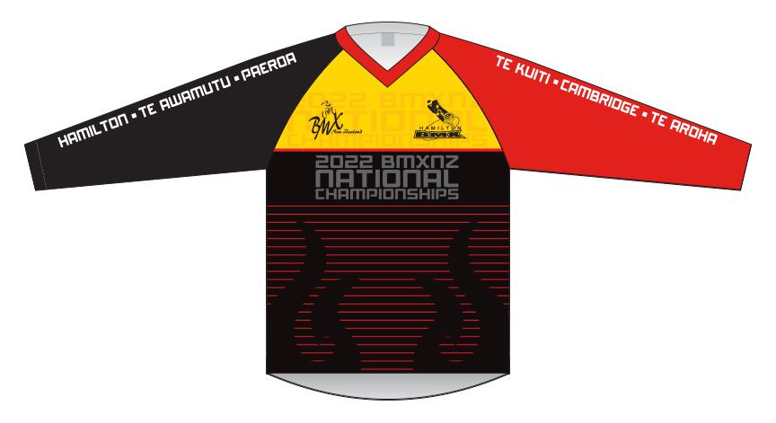 2022 Nationals Race Shirt